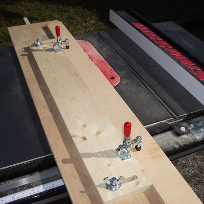 Table Saw Jointer Jig