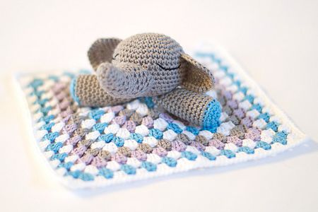 40 Adorable Crochet Baby Blanket Patterns New Elephant Baby Blanket Crochet Pattern