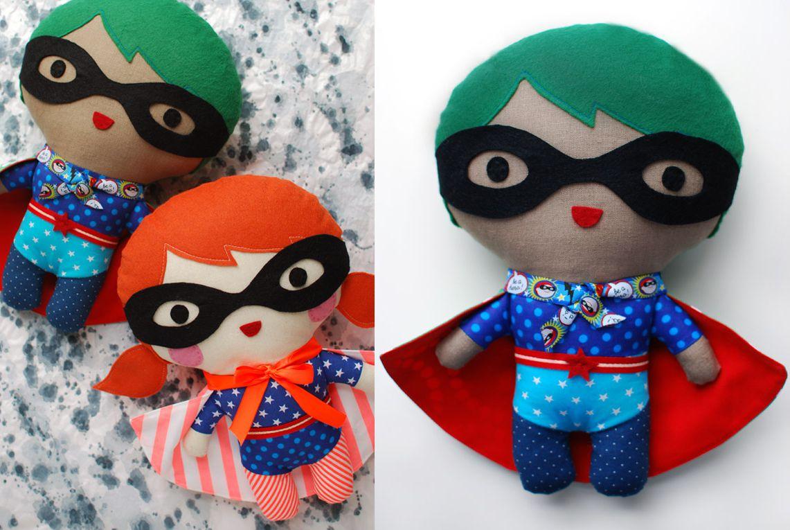 Super Hero Soft Toy Tutorial
