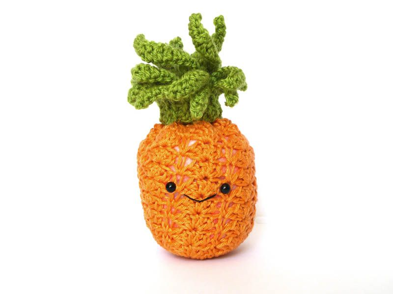 Kawaii Pineapple Amigurumi Pattern