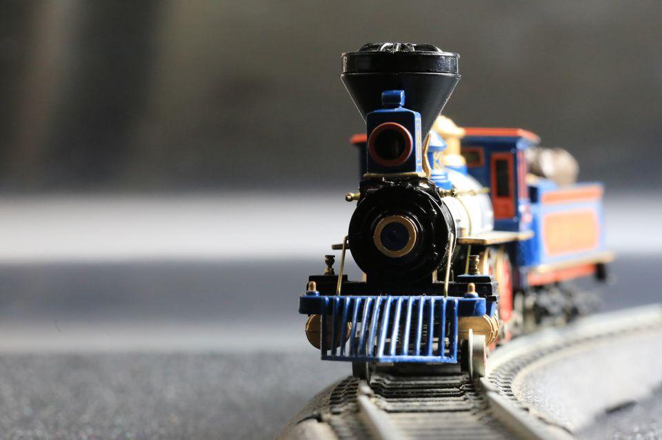 Children's Toy steam locomotive