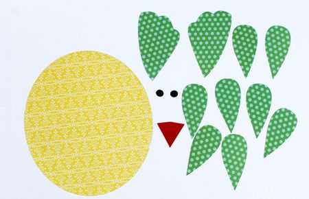 Paper Easter Chick Decorations