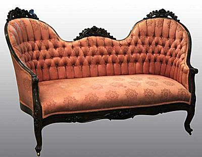 Victorian Love Seat Price or Value Guide