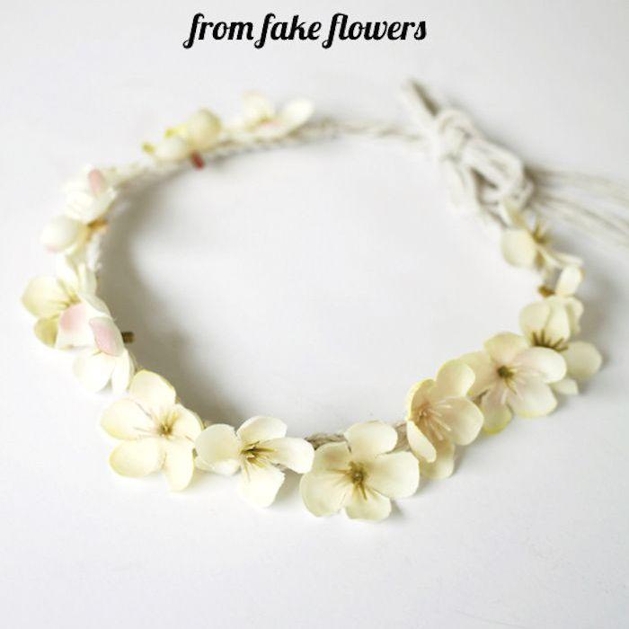 Faux Floral Headband