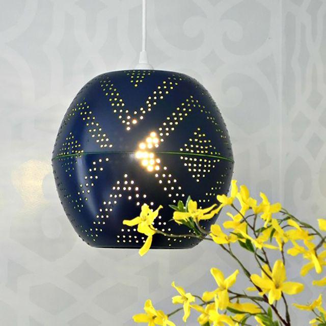 DIY west elm lampshade