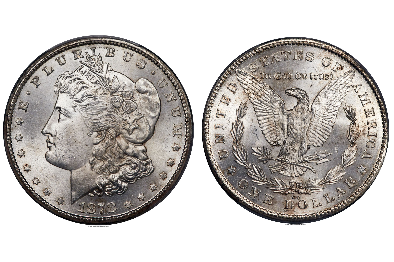 1878-Cc Morgan Silver Dollar Uncirculated