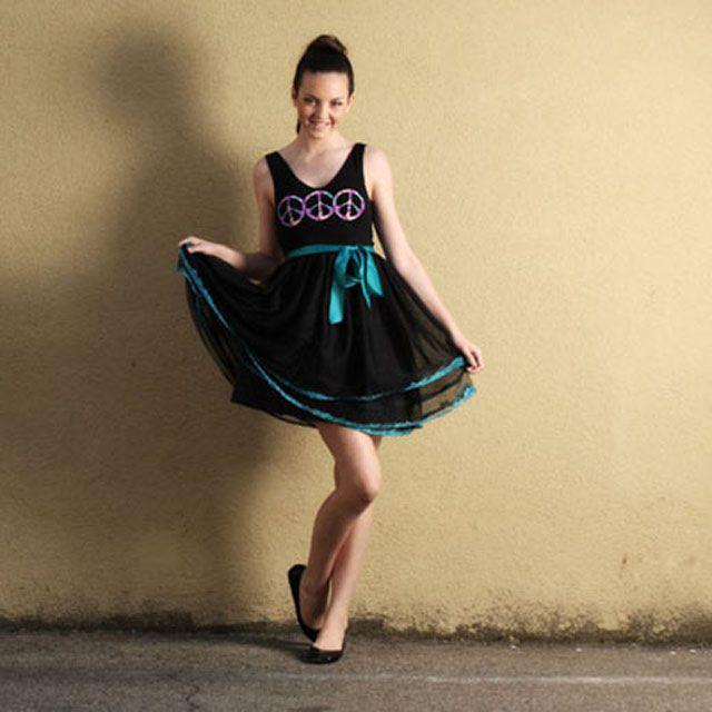 Decorated premade tutu dress