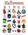 Halloween Printable Bingo Cards