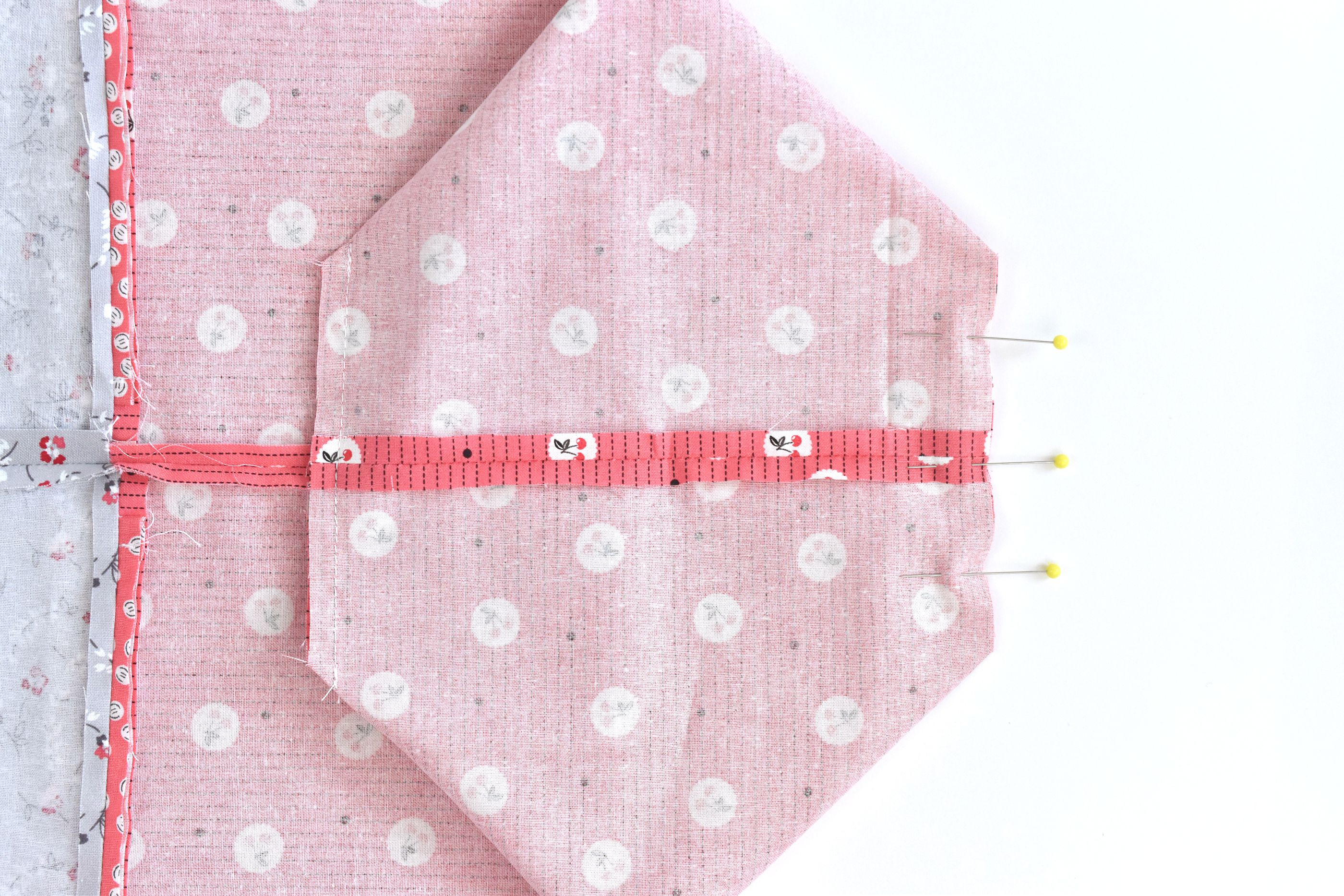 Match the Seams and Sew the Boxed Corners