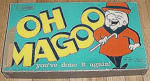 Oh Magoo board game