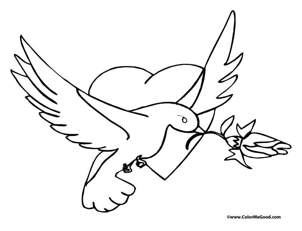 543 Free, Printable Valentine\'s Day Coloring Pages