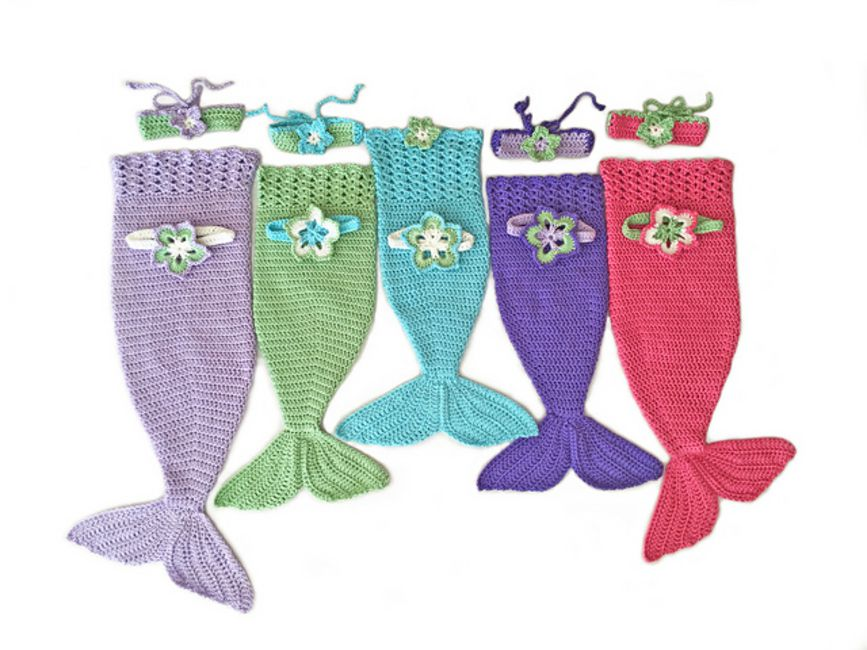 Crochet Mermaid Tail Pattern