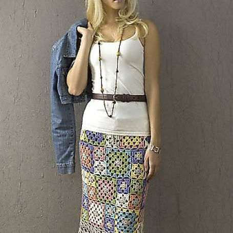 Archena Crochet Skirt Pattern