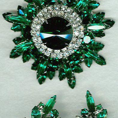 Juliana/DeLizza & Elster Emerald Green Set