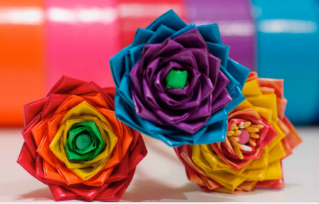11 Fun And Easy Duct Tape Crafts