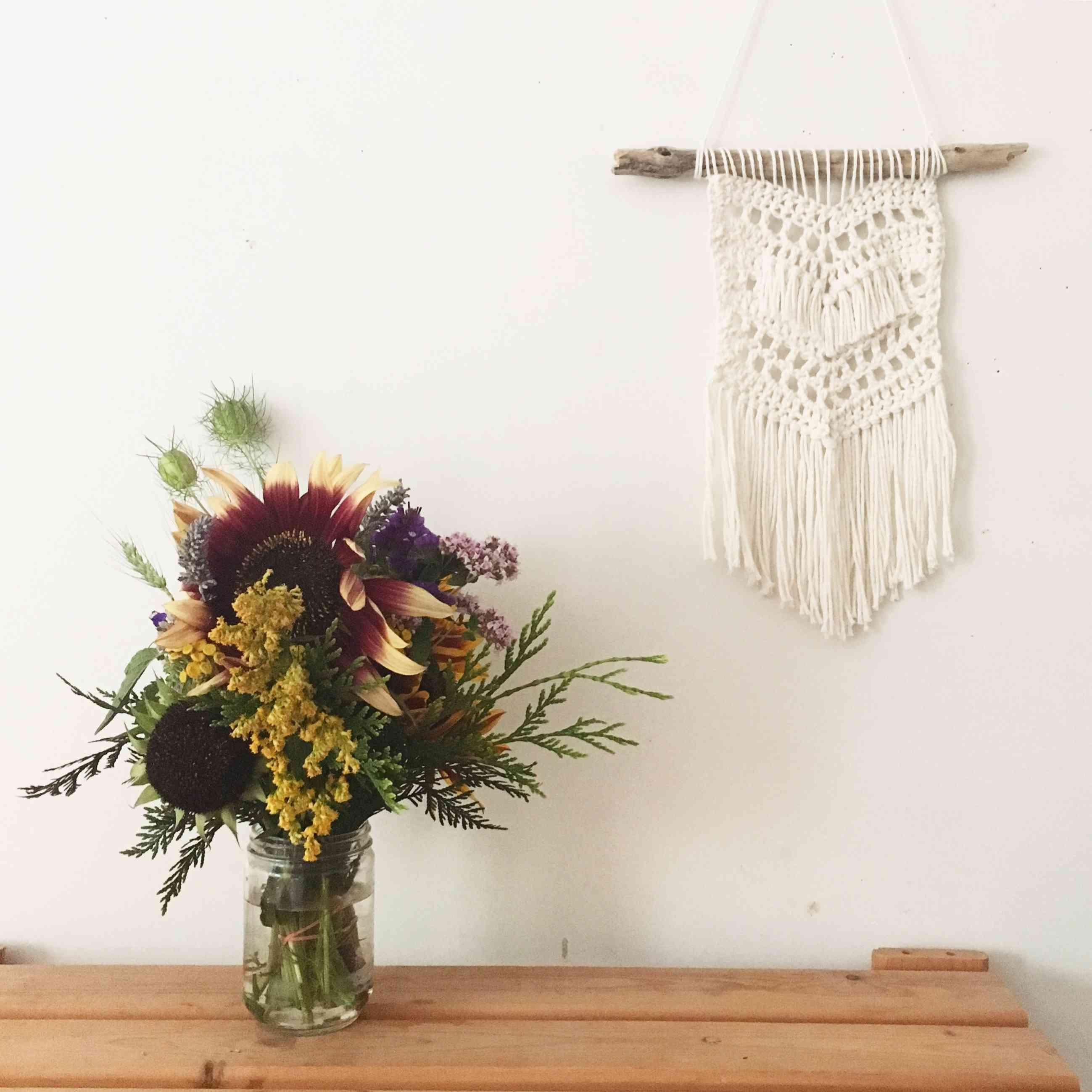 Beach Boho Wall Hanging Crochet Pattern