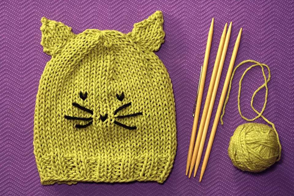 Cute Kitty Hat Pattern
