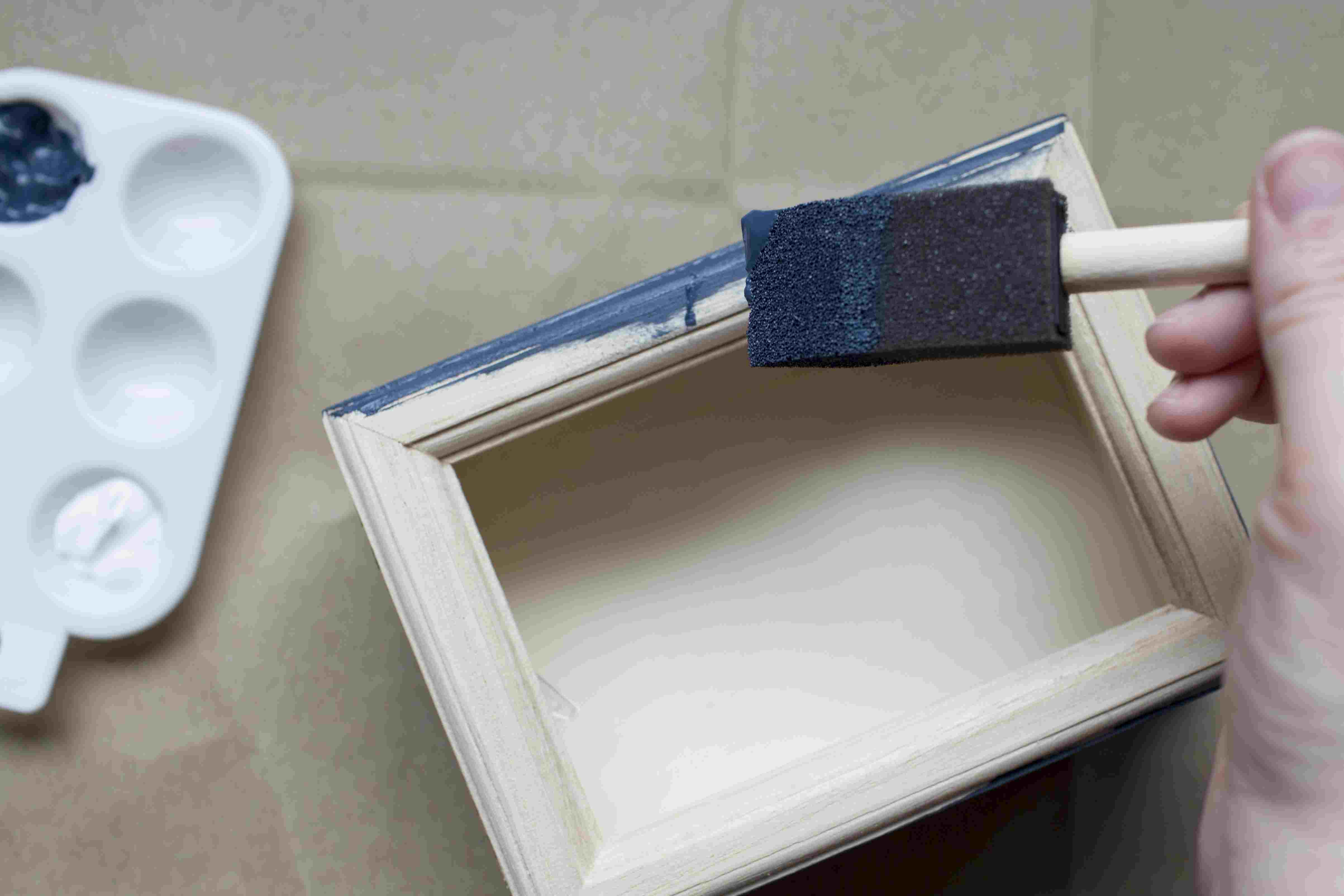 Paint the jewelry box