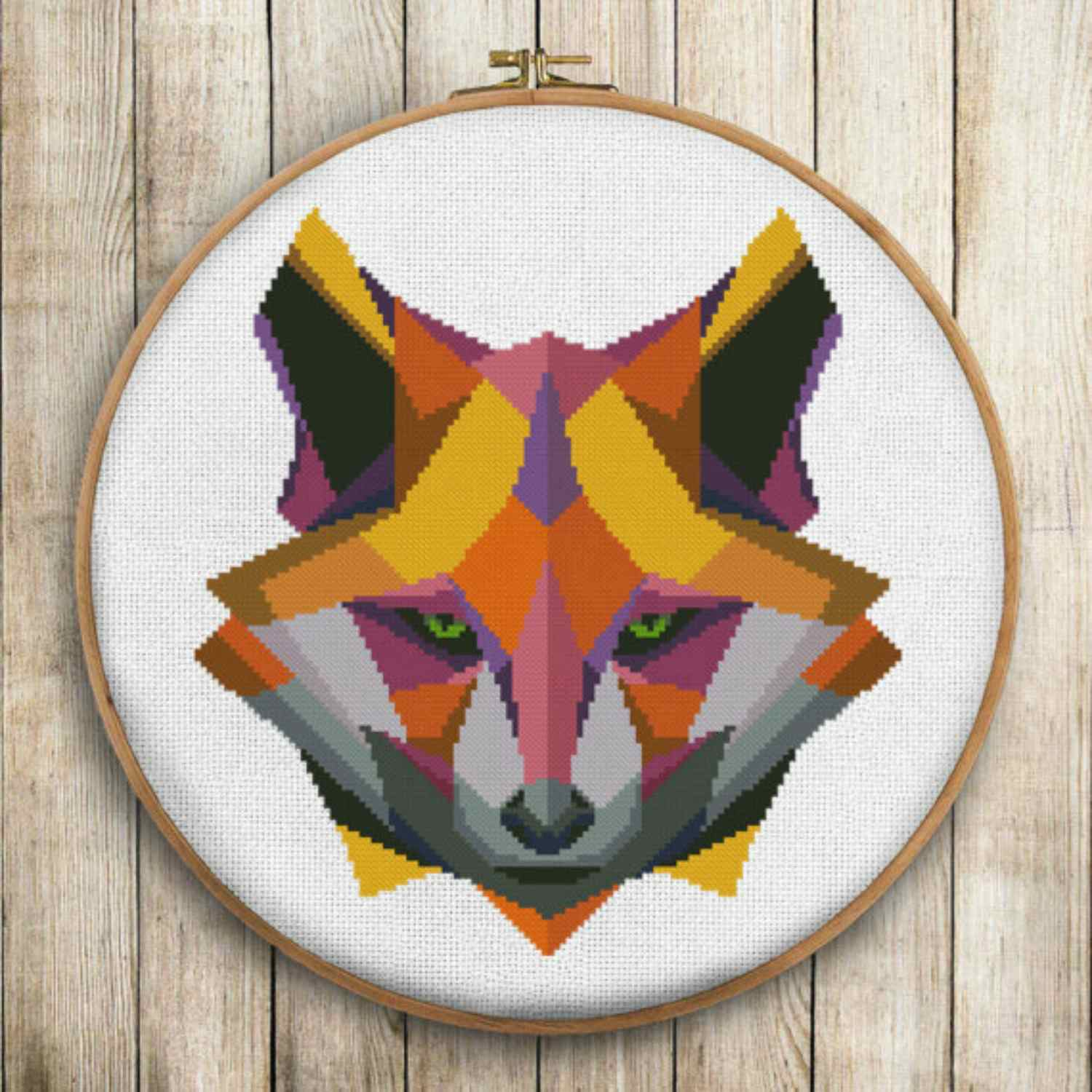 Fox. DianaFinchArt. Looking for an animal cross stitch ...