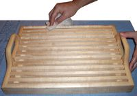 Hardwood Bread Tray