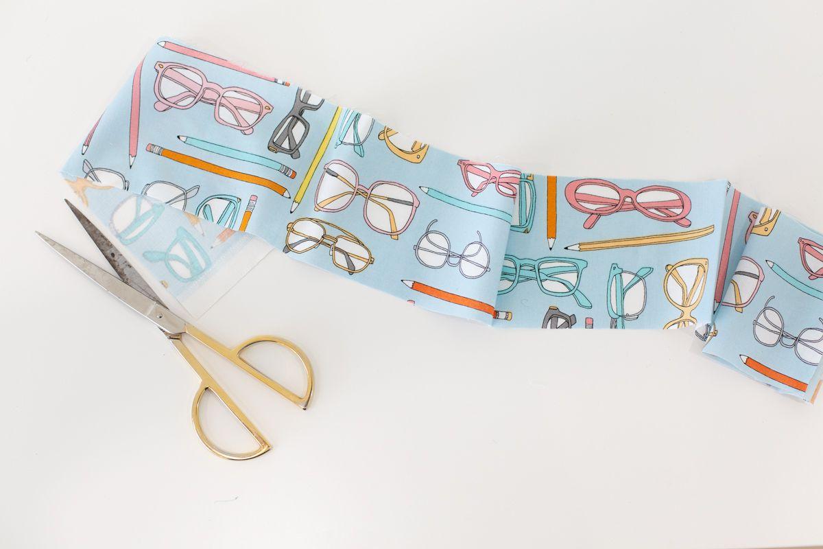 Fabric for a DIY headband