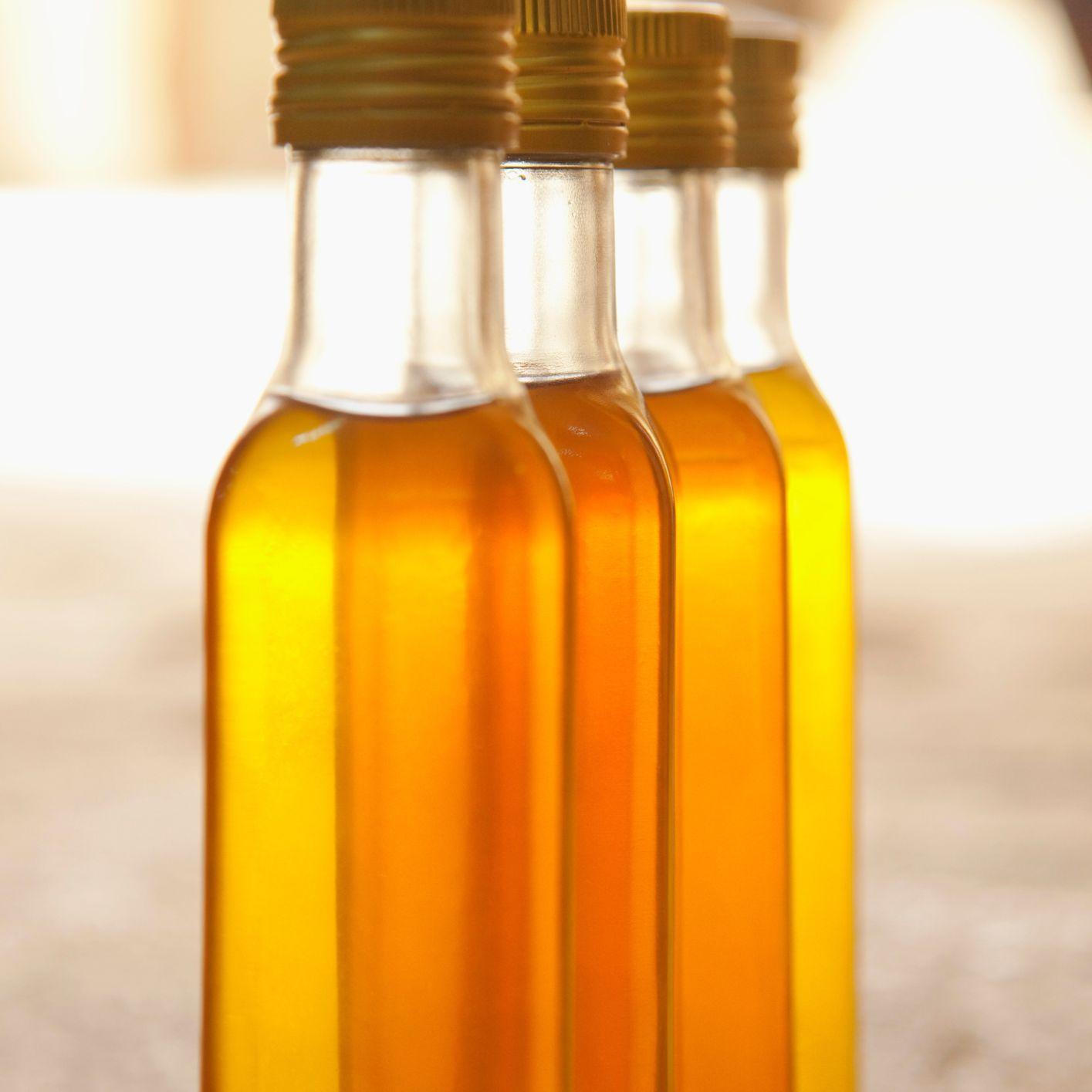 Bottles of Palm Oil for Sale