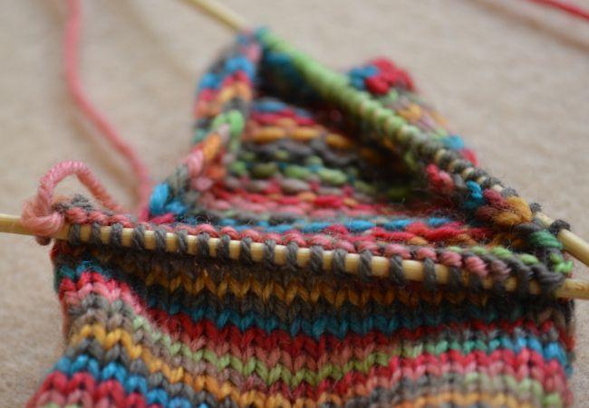 Knit Leg Stitches