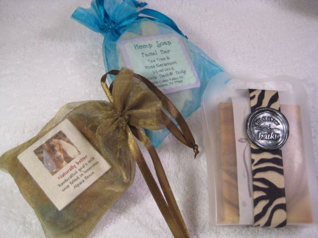 Special soap packaging