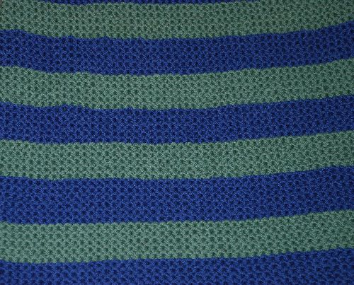 Crochet Blanket Garter Stitch