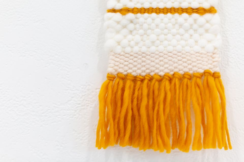Woven Wall Hanging details