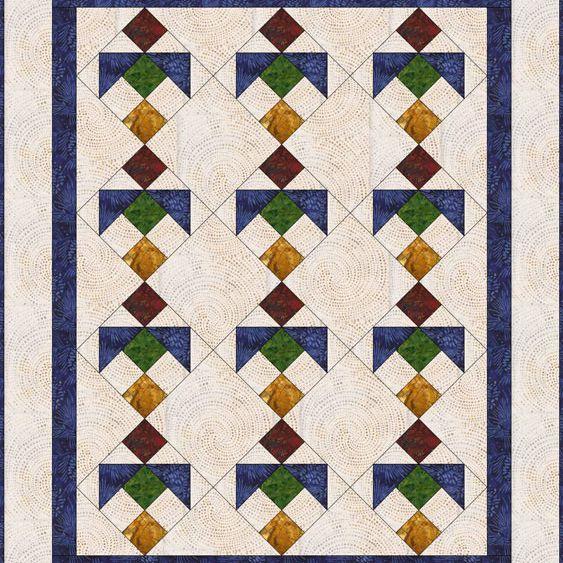 Birds Baby Quilt Pattern