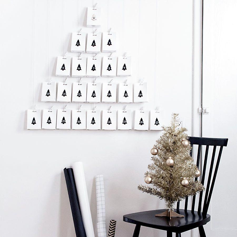 Minimal Advent calendar