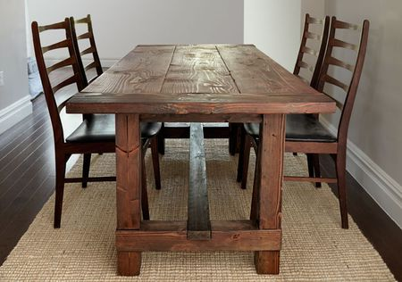 Free DIY Woodworking Plans For A Farmhouse Table - Popular mechanics picnic table