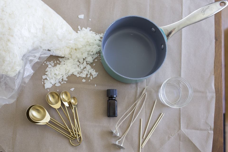 Making Your Own Citronella Candles