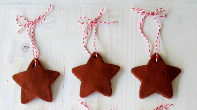 DIY Cinnamon Scented Ornament