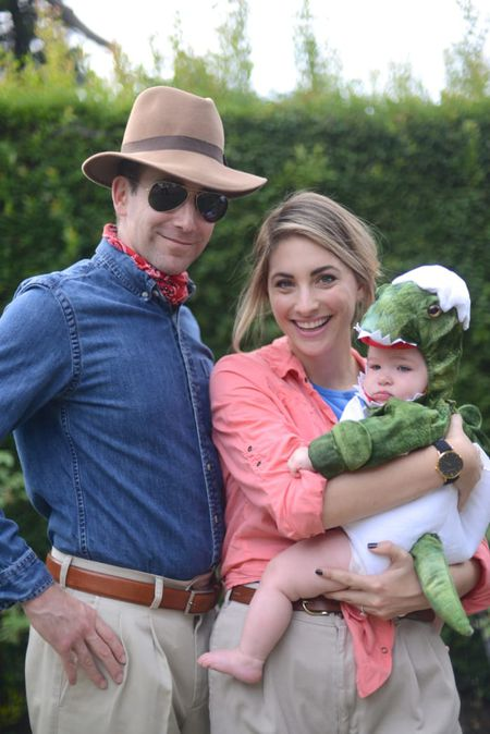 diy family halloween costume jurassic park