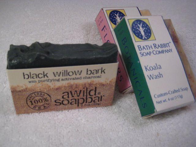 Half box soap wrapping