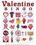 Valentine's Day Printable Bingo Cards