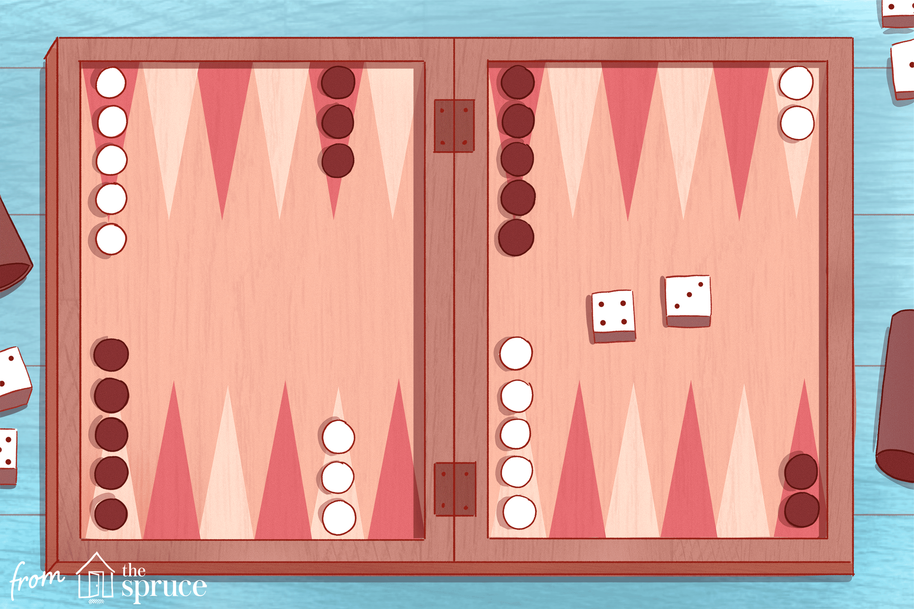 Setup For Backgammon