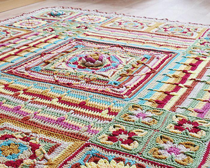 Demelza Blanket Free Crochet Pattern