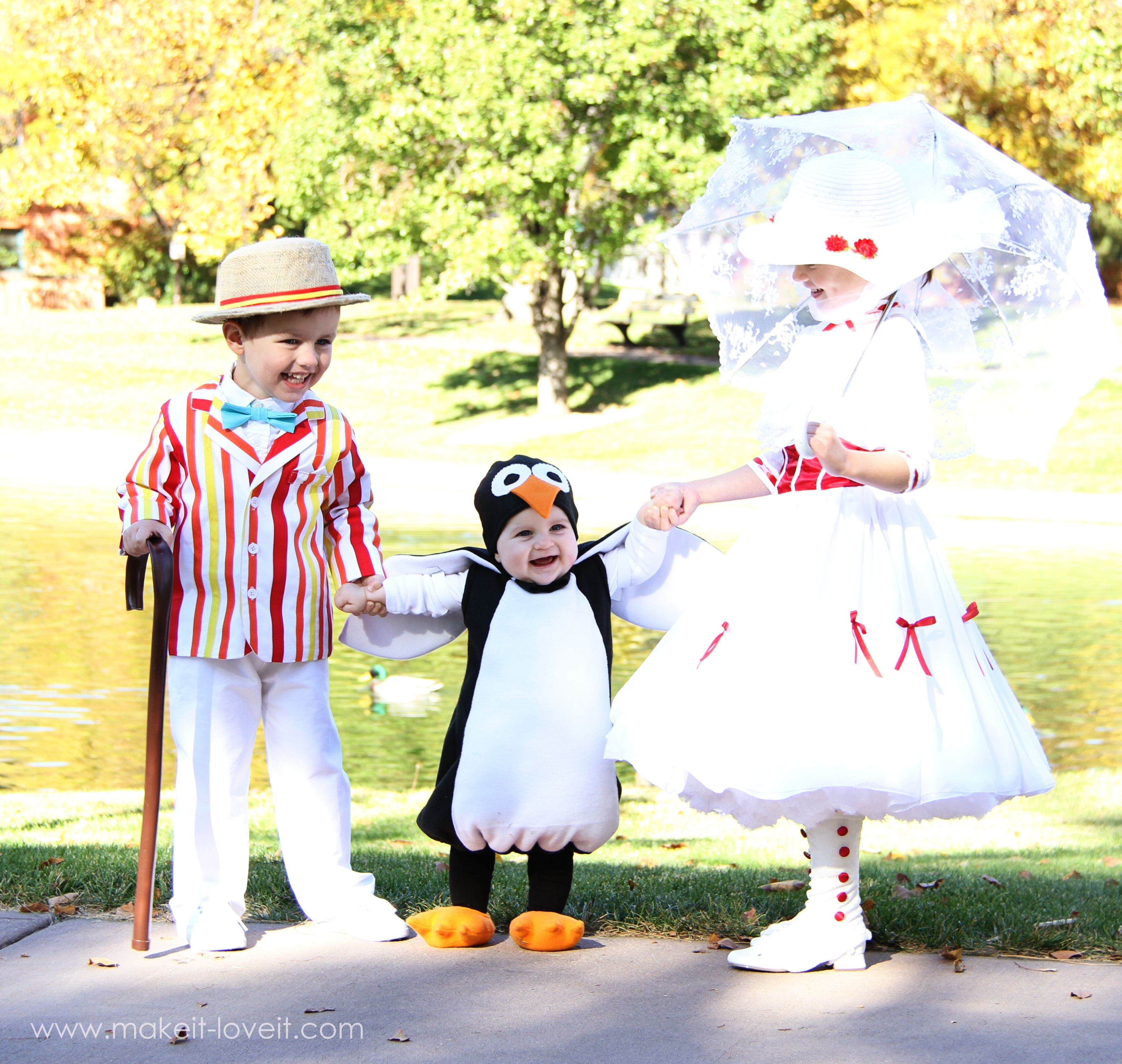 Mary Poppins group costume