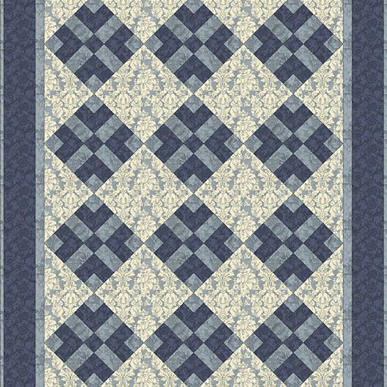 One Color Quilt Pattern