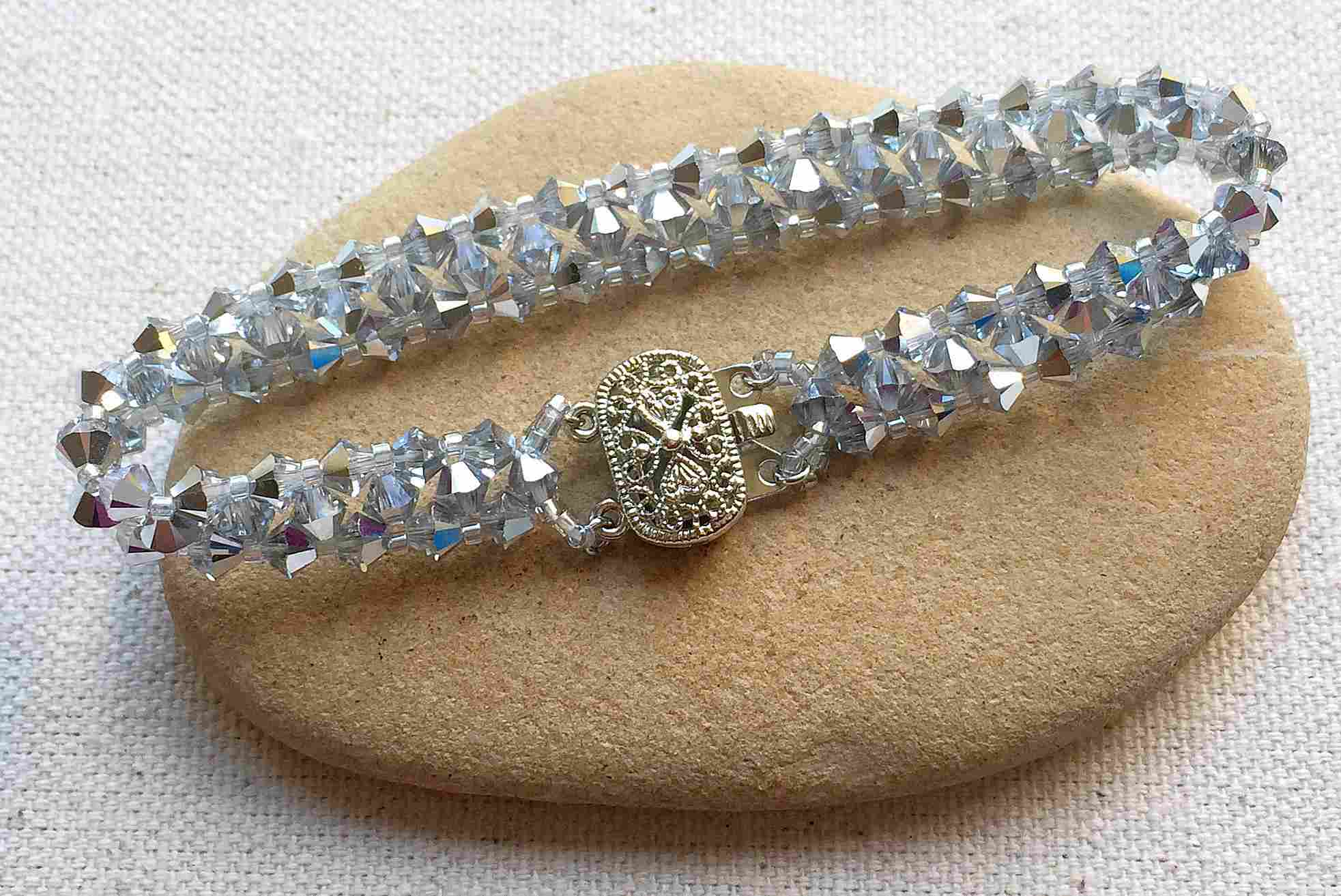 Crystal Bead Tennis Bracelet Diy