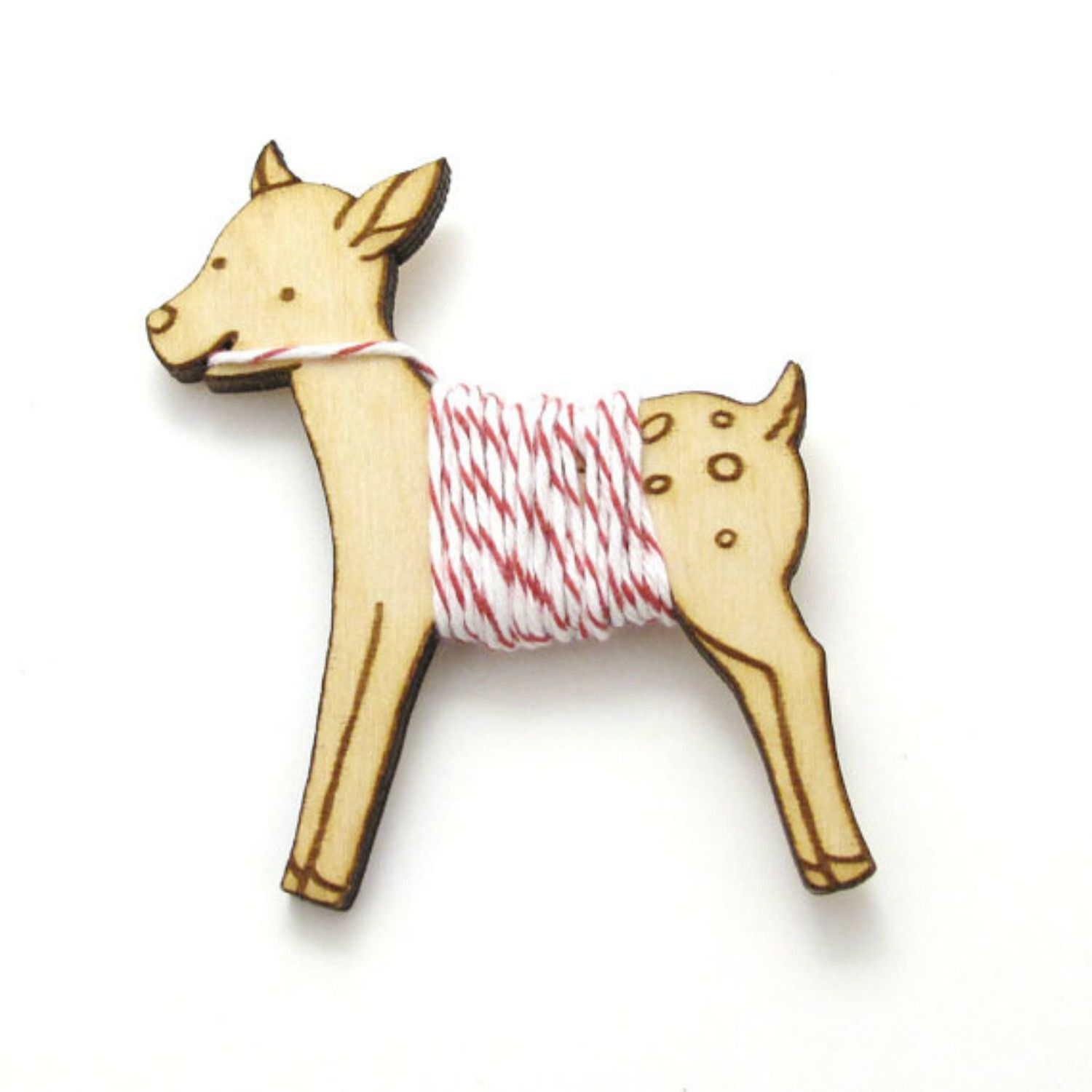 Deer floss holder