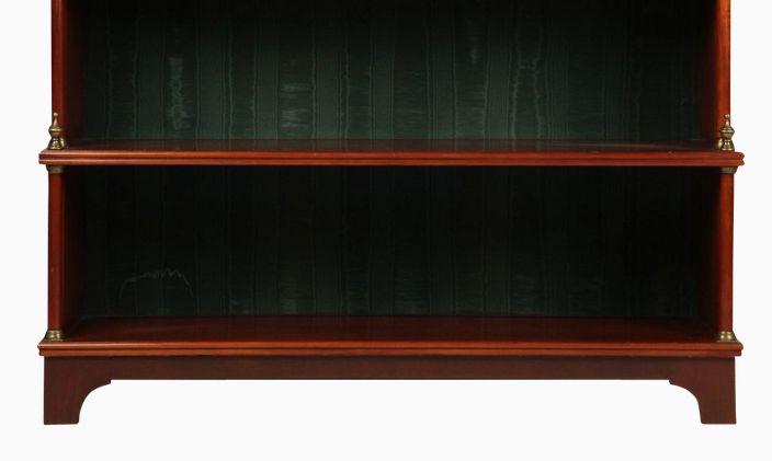 Plain Bracket Feet on French Directoire Style Cherry Bookcase