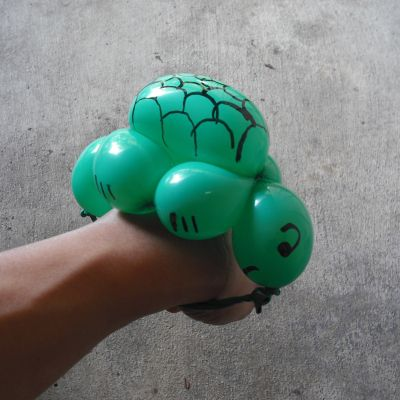 finished turtle bracelet
