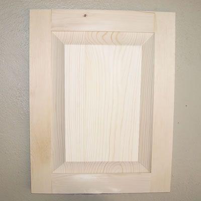 Cove Raised Panel Cabinet Door