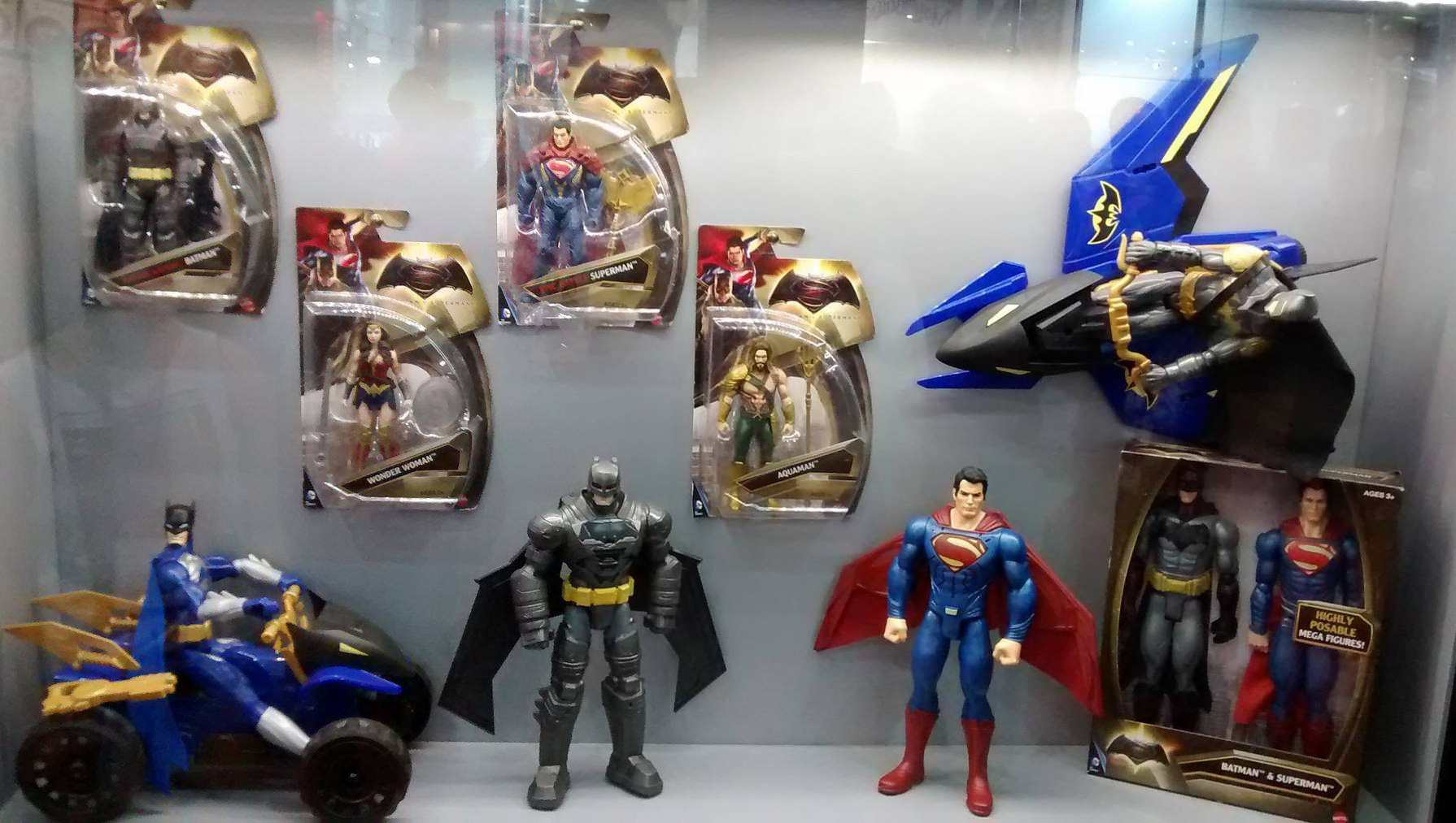 Action Figures from 2015 San Paolo Brazil Comic Con Experience (CCXP)
