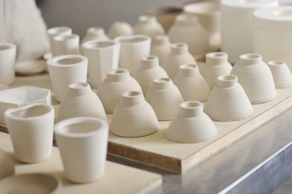 Bowl women potters are making in studio
