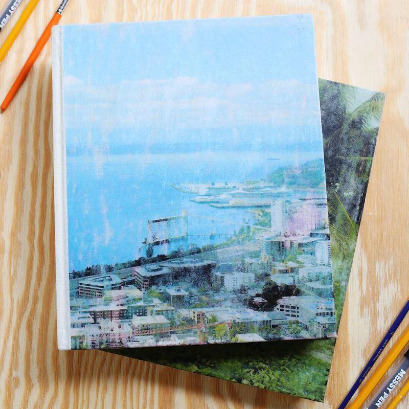 Fabric Photo Journal